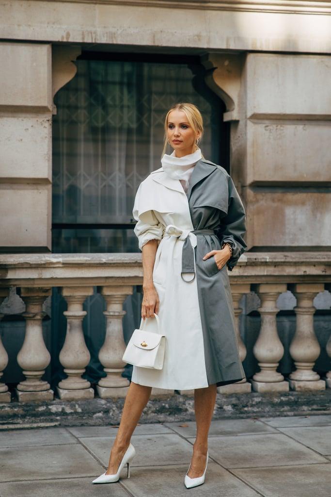 Winter 2019 Coat Trend: Two-Tone