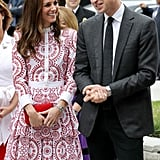 Kate only had eyes for Will when they visited Vancouver, Canada during their royal trip.