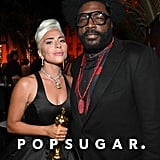 Pictured: Lady Gaga and Questlove