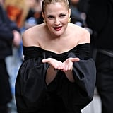 Drew Barrymore on The Late Show