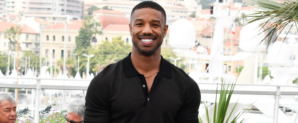 Michael B. Jordan at Cannes Film Festival 2018 Pictures