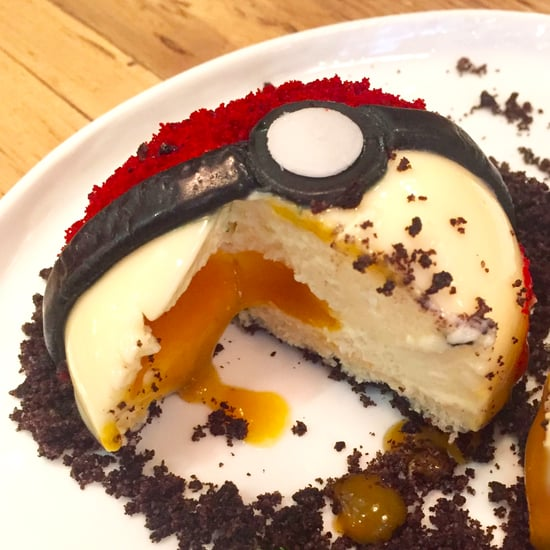 Pokemon Ball Dessert in NYC