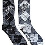 Stark Argyle Crew Socks