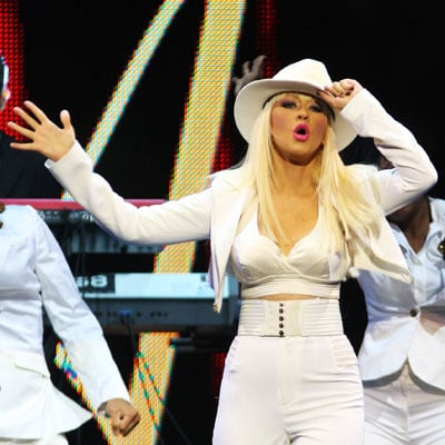 Christina Aguilera Performs at the Africa Rising Festival