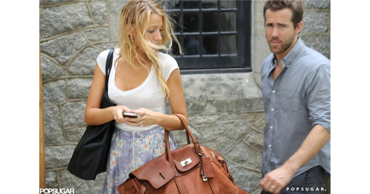 blake lively and ryan reynolds showed off their new