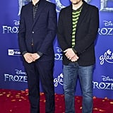 Brian Bell and Rivers Cuomo on Weezer at the Frozen 2 Premiere in Los Angeles