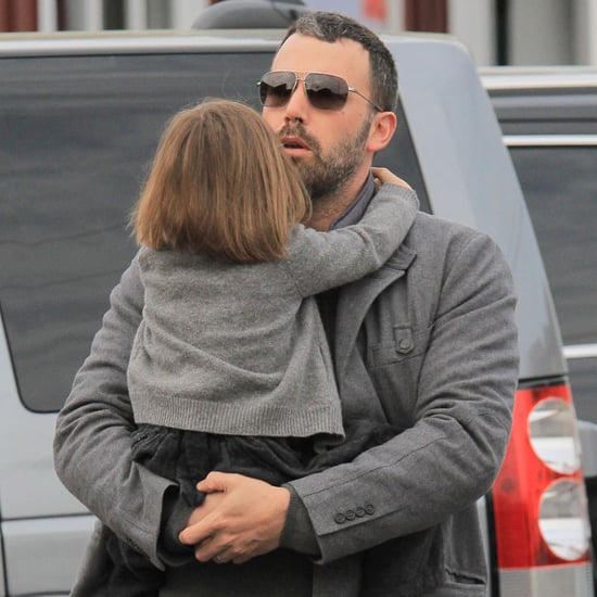 Ben Affleck With Seraphina in Brentwood | Pictures