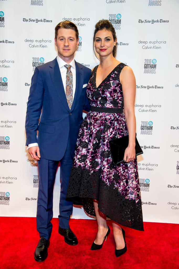 "Morena Baccarin and Ben McKenzie are engaged, Us Weekly reports. Morena debuted her massive diamond stunner at the Gotham Independent Film Awards in NYC on Monday night. Clad in a purple and black gown, the Gotham star flashed her winning smile as she posed for photos alongside Ben on the red carpet. A source close to the pair told the publication, ""They are very happily engaged."" Morena and Ben first met on the set of Gotham back in 2014, and the two began dating in September 2015 after Morena split from her husband of three years, Austin Chick. The pair are already parents to daughter Frances Laiz Setta Schenkkan, while Morena shares a son named Julius with Austin. Congrats to the happy couple!      Related:                                                                                                           40 Engaged Celebrity Couples We Can't Wait to See Tie the Knot"