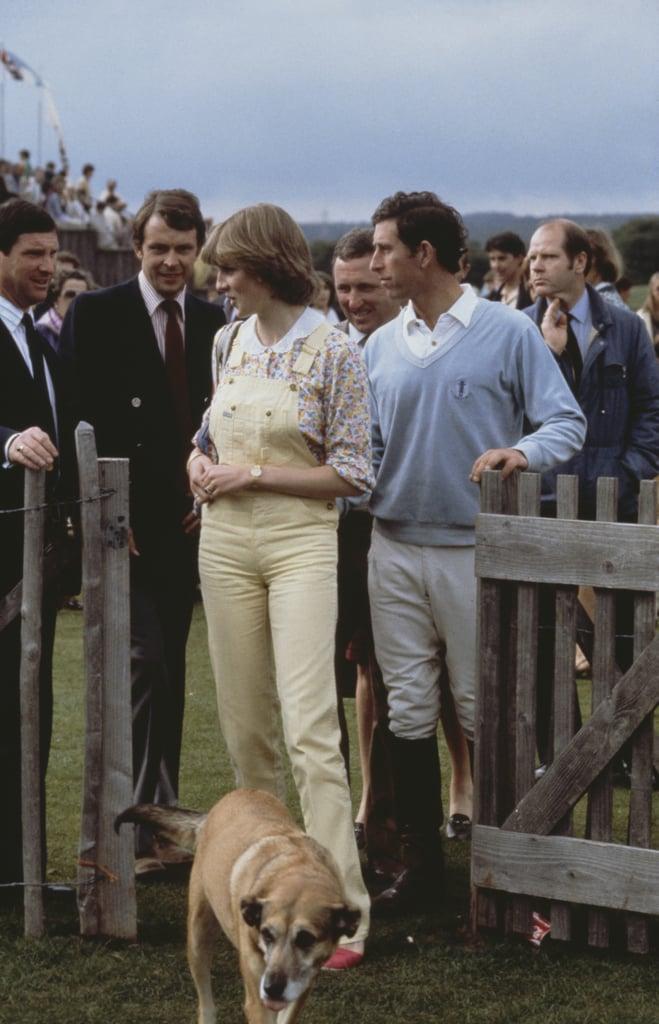 Princess Diana's Yellow Overalls