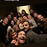 Jennifer Aniston Friendsgiving Celebration Pictures 2019