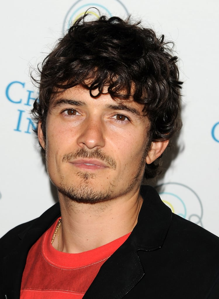 Pictures of Orlando Bloom at a Lecture For Dyslexia