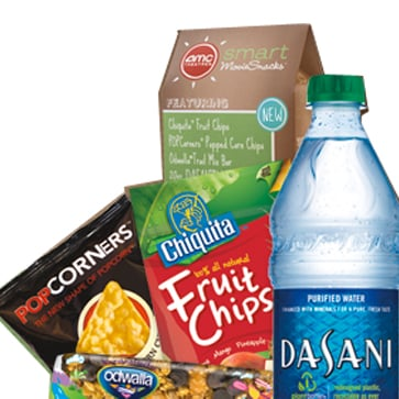 Calories in AMC's New Smart Movie Snacks