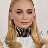 Sophie Turner's Retro Ponytail
