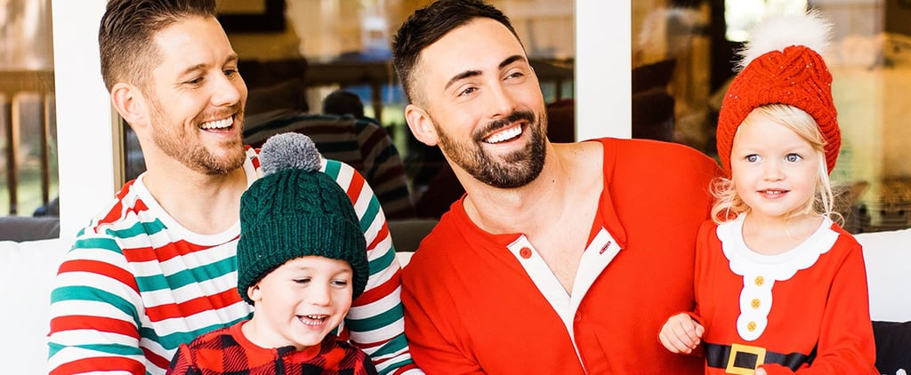 Two Gay Dads and Twins in Old Navy's Holiday Pajamas Ads