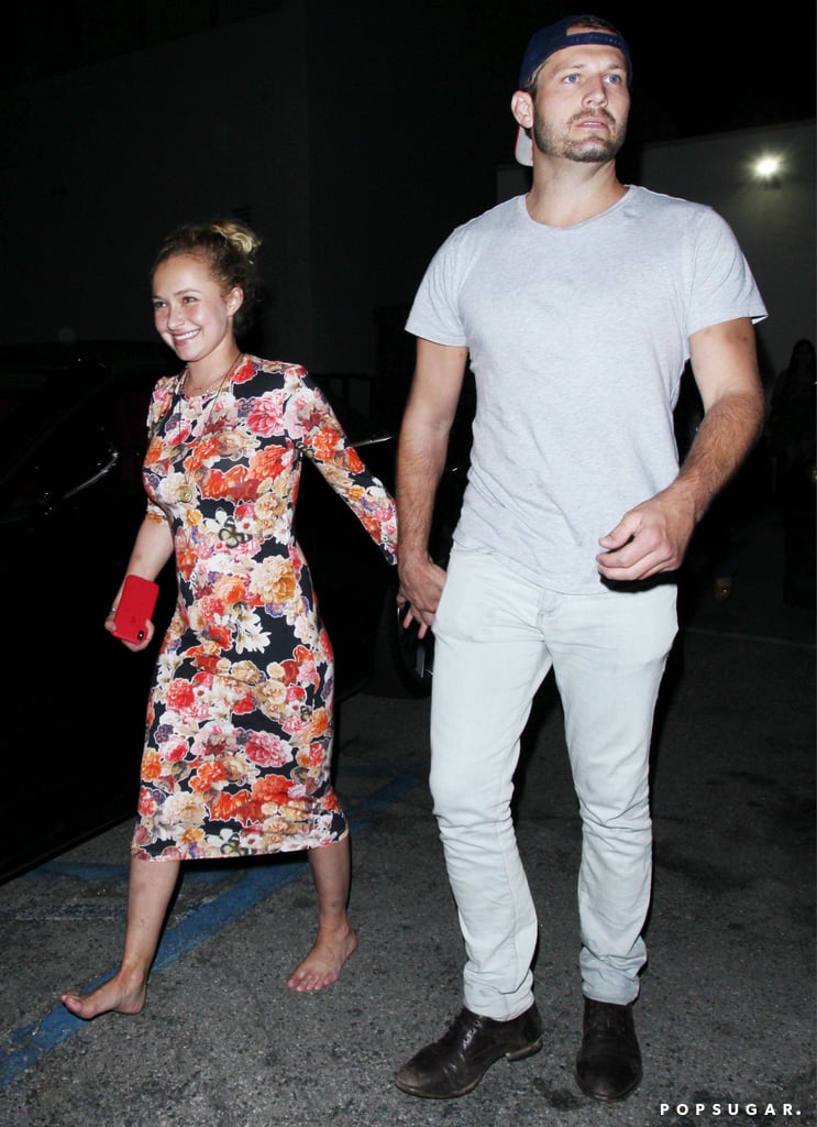 "Uh-oh — did Hayden Panettiere and Wladimir Klitschko break up? On Thursday, the 28-year-old actress was spotted holding hands with a mystery man while leaving Craig's in LA. Hayden clearly didn't seem to mind the cameras as she flashed a huge smile and even stopped to show off her dance moves in the parking lot while barefoot. No word yet on who the mystery guy is, but shortly after, Hayden's mom, Lesley Vogel, confirmed that her daughter and Wladimir had recently ended their engagement.  ""There are a lot of changes going on in her life,"" Lesley said. ""But I think they're positive changes. And I think that she's taking some time. She needs to take a little bit of a break and make some decisions on her own of what she wants to do. So I think she is in a very good place."" She also confirmed that Hayden and Wladimir are keeping things amicable and recently vacationed in Greece with their 3-year-old daughter Kaya.       Related:                                                                                                           11 Celebrity Couples Who Called Off Their Weddings               A source also confirmed the split to E! News. ""At this point, Hayden is single and she and Wladimir are coparents to Kaya. Kaya is primarily with her dad and his family in Europe and Florida. They also spend time together as a family with Hayden,"" the insider stated. ""Hayden and Wladimir are on great terms and friendly. They are a big part of each other's lives and will continue to be. Hayden is back in LA and figuring out what's next.""  Hayden and Wladimir have dated on and off since 2009 and got engaged in 2013. Neither Hayden nor Wladimir have addressed the status of their relationship yet."