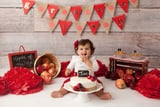 You'll Fall in Love With This Adorable Little Girl and Her Autumnal Cake Smash