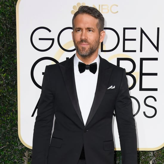 Guys With Beards at 2017 Golden Globes Pictures