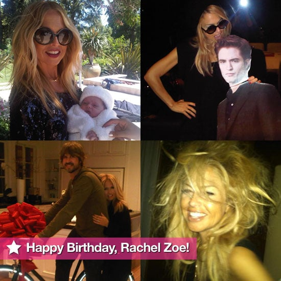 Happy Birthday, Rachel Zoe — Check Out Her Cutest Twitter Pictures!