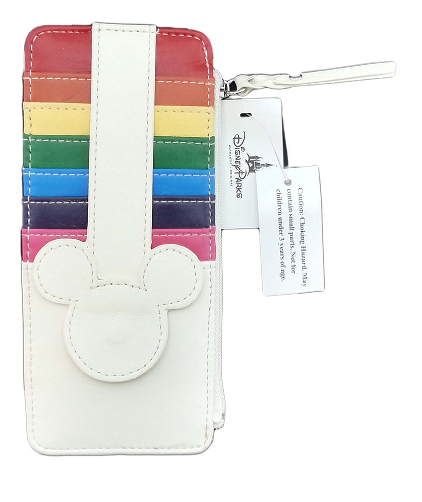 Disney Parks Rainbow Credit Card Holder Wallet