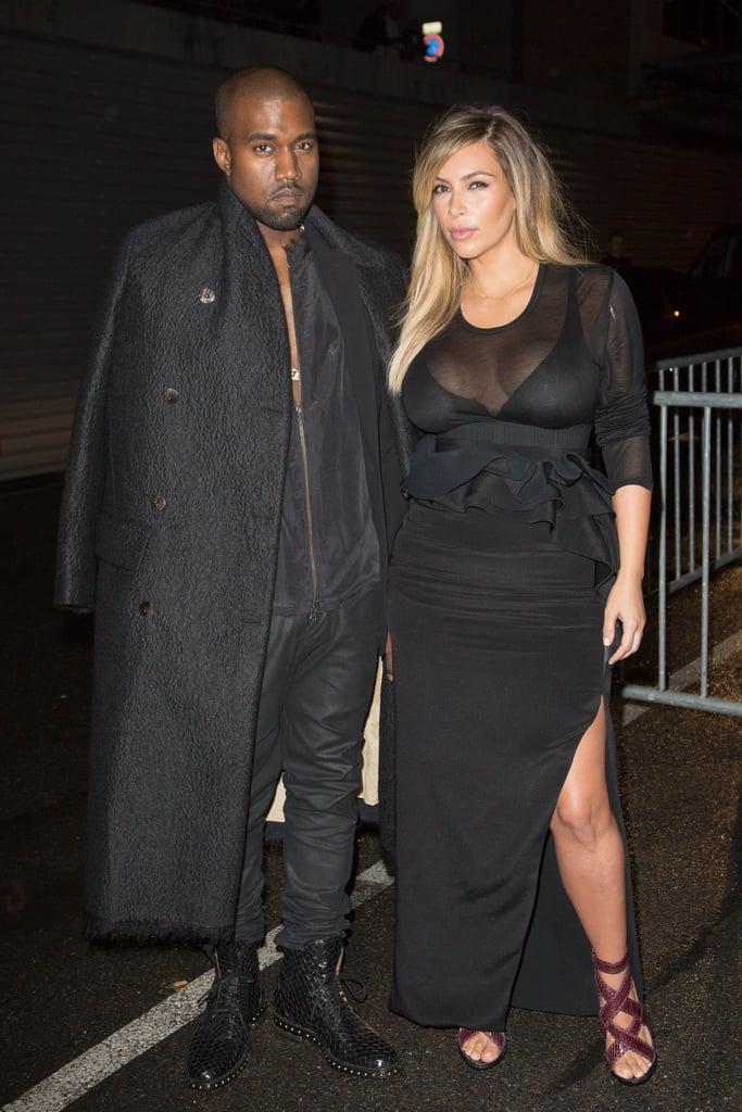 Kim Kardashian Wearing Givenchy