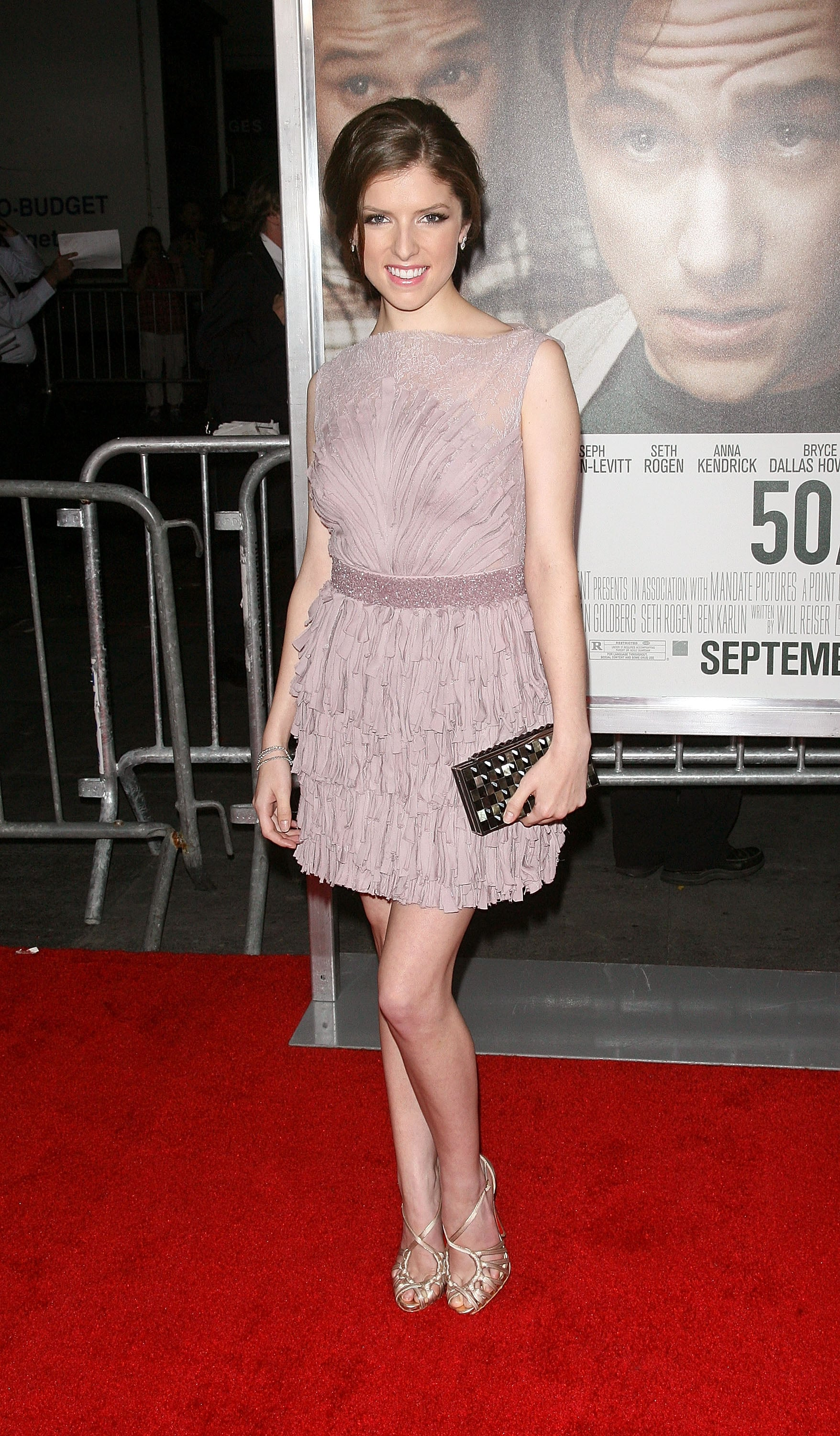 Anna Kendrick at the 50/50 premiere in NYC.