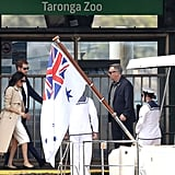 Meghan Markle Added a Neutral Trench Coat to Visit Taronga Zoo