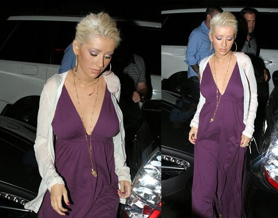 The Xtina Baby Bump Speculation Is Getting Old