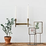 Metal Torch Wall Sconce