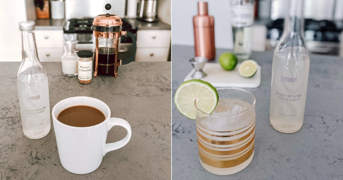 I Tried This Sugar-Free Simple Syrup, and It's Now a Staple in My Coffee and Cocktails