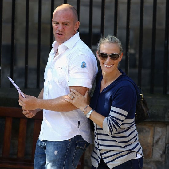 Zara Phillips Wedding Preparation Pictures With Mike Tindall