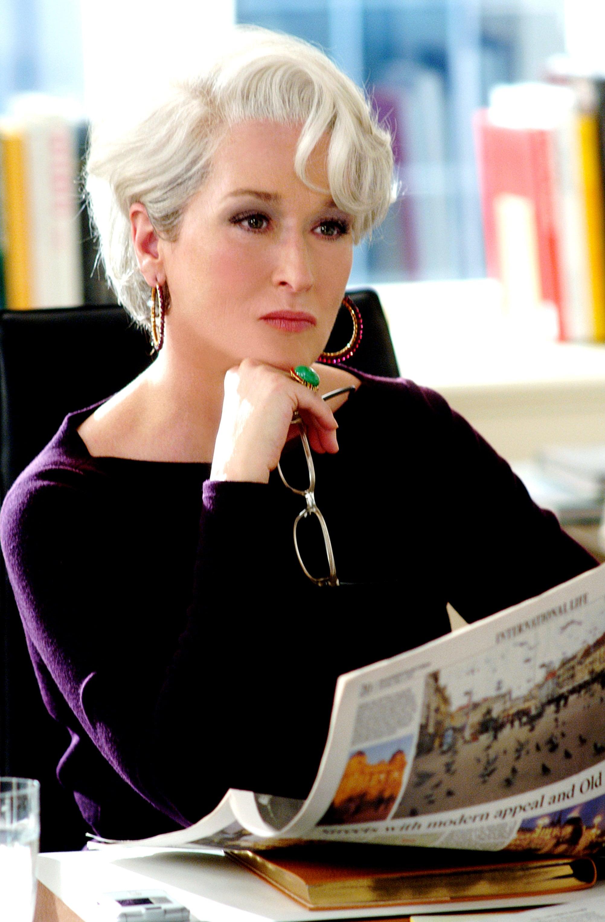 THE DEVIL WEARS PRADA, Meryl Streep, 2006, TM & Copyright (c) 20th Century Fox Film Corp. All rights reserved.