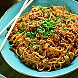 Spicy Sesame Chile Noodles With Chicken