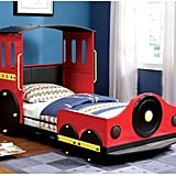 Train Locomotive Metal Youth Bed
