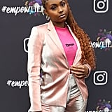 Tiana Major9 at Instagram's 2020 Grammy Luncheon in LA