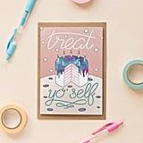 Treat Yo' Self Feminist Card ($3)