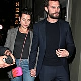 Jamie Dornan Leaves Anastasia Steele at Home For a Date Night With His Wife