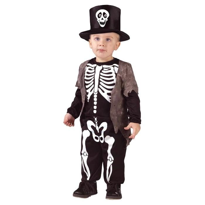 Boys' Happy Skeleton Toddler Costume