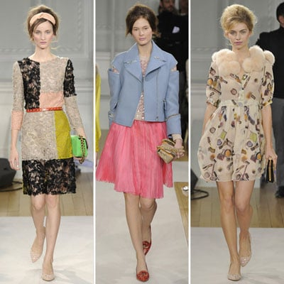 Moschino Cheap & Chic Runway Fall 2012