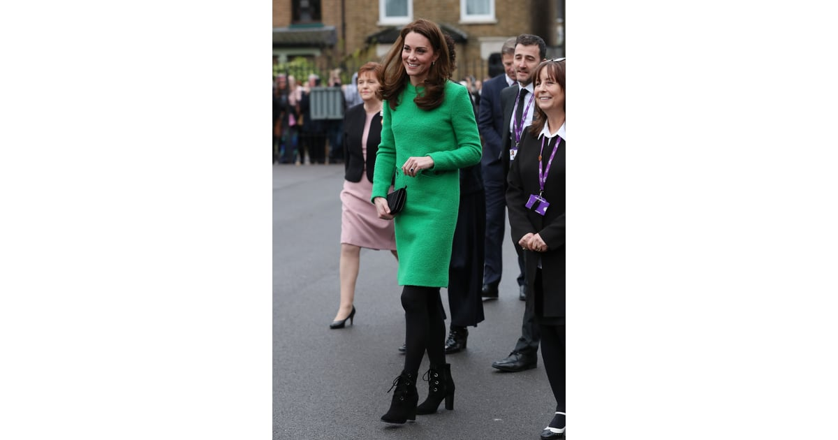 Kate Middleton S L K Bennett Ankle Boots February 2019