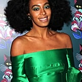 Solange Knowles at the Miu Miu Party