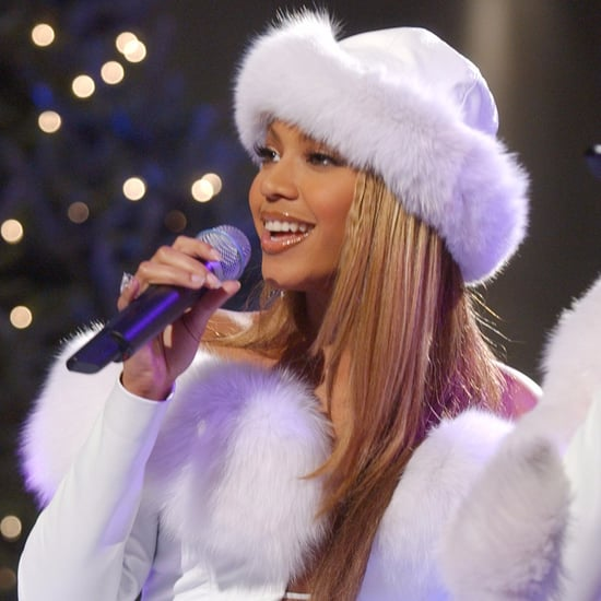 Celebrity Christmas Photos in the Early 2000s