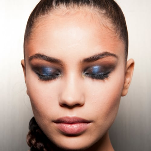 Blue Makeup and Nail Trend | Spring 2013