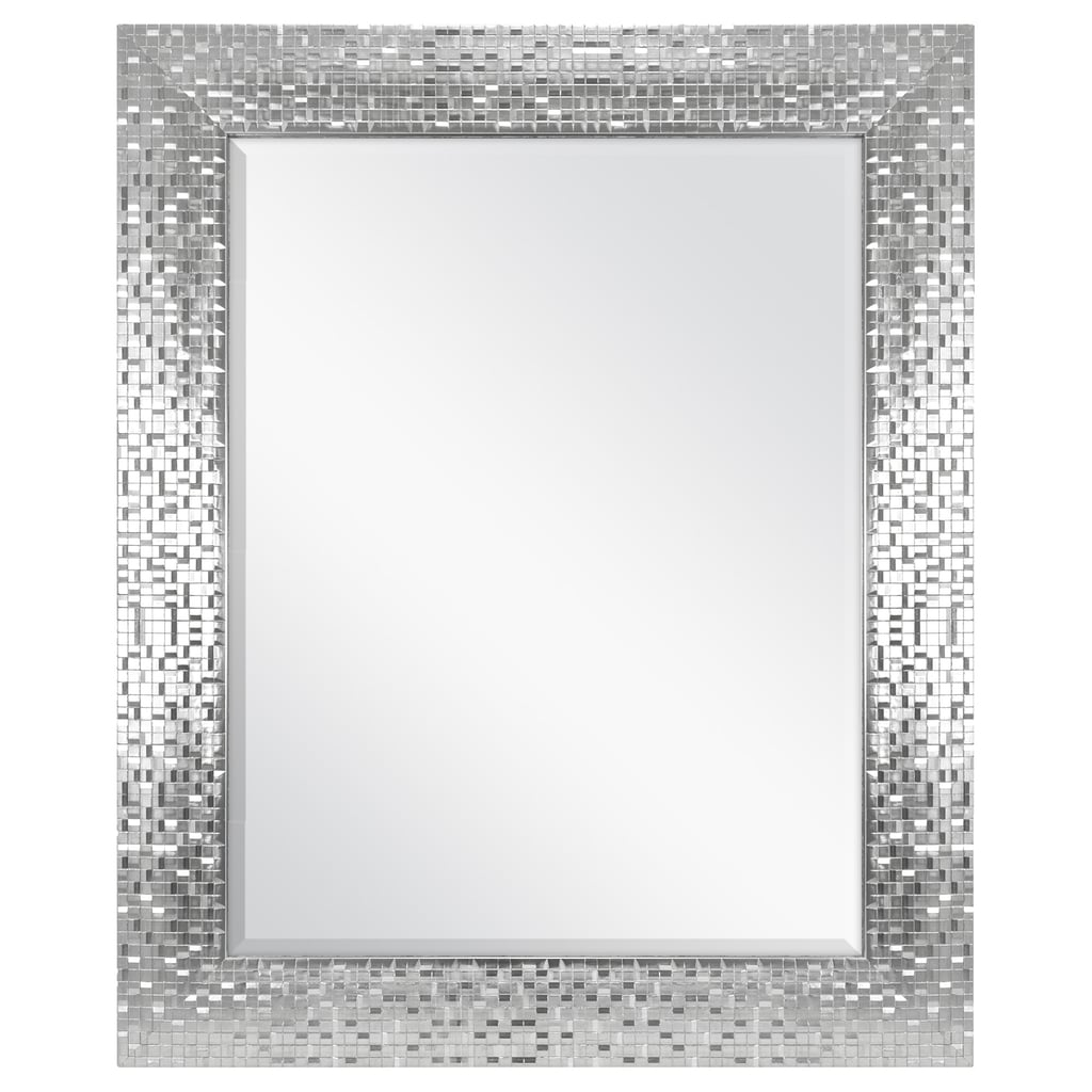 Better Homes Gardens Silver Tile Mirror