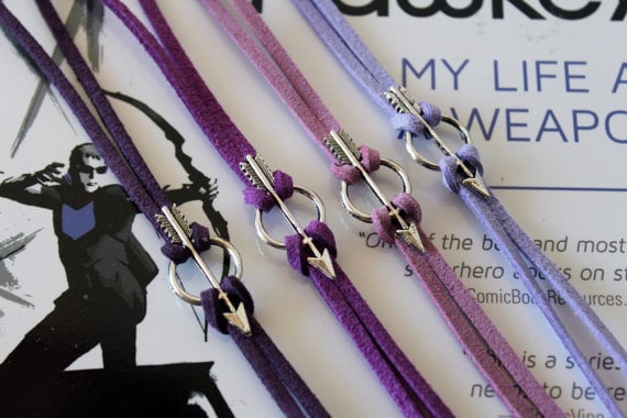 Blue Purple Slap Bracelet Black Pink White Marvel Wolverine Bracelet Wrist Band Comic Book Jewelry