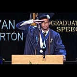 Ryan Burtons, Senior Class President of La Plata High School (2015)