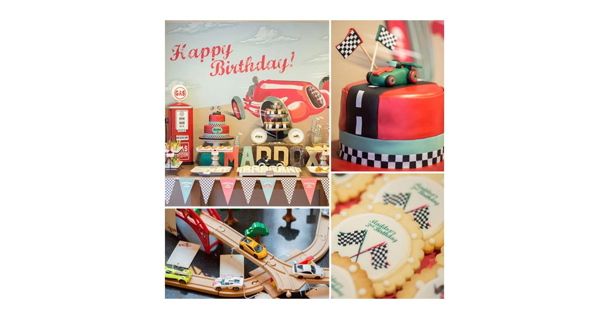 A Vintage Race Car Birthday Party 68 Fun Ways To Fete Your Terrific Toddler Popsugar Family Photo 25