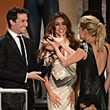 Noah Wyle, Sofia Vergara, and Julie Bowen