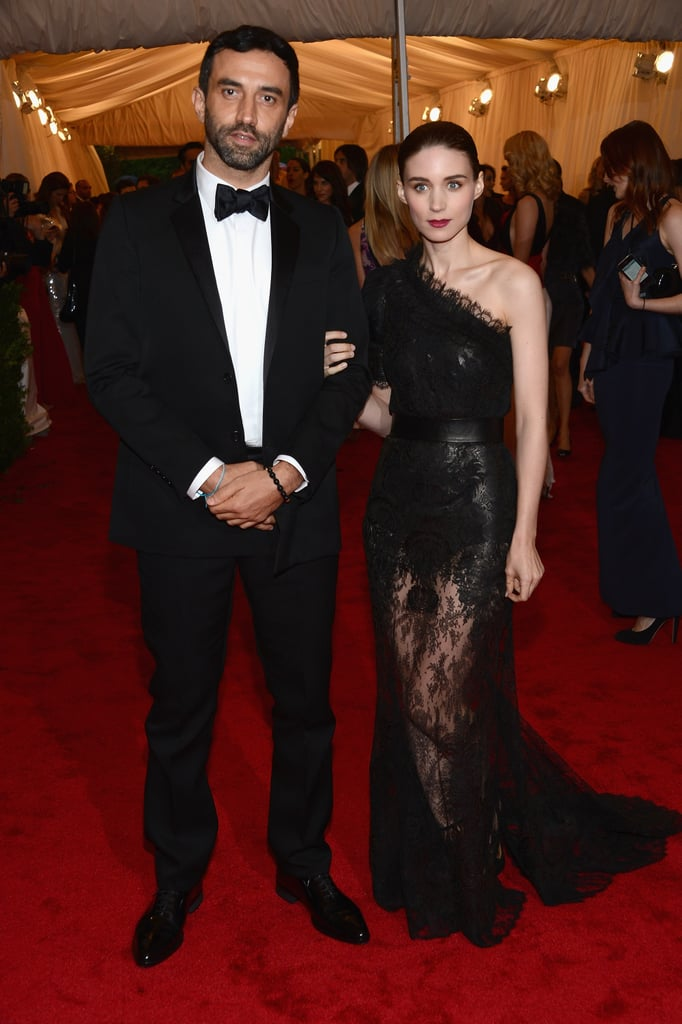 Rooney Mara and Riccardo Tisci
