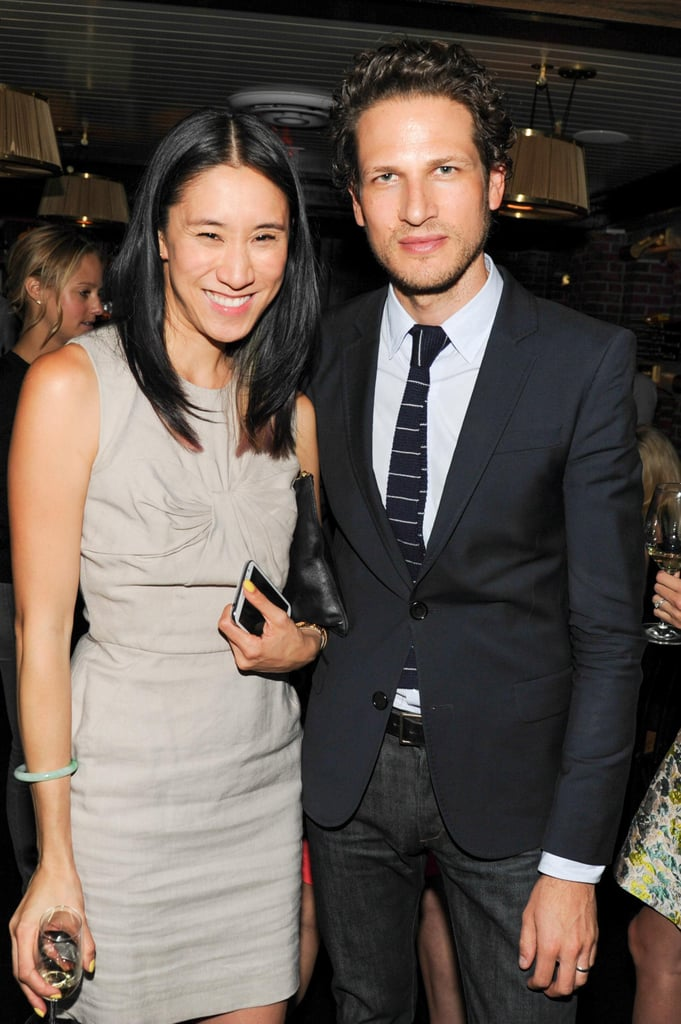 Eva Chen joined Uri Minkoff at the Lafayette Lyst launch.