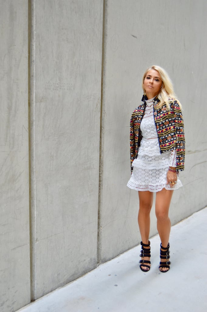 Multicolored Sequin Jacket